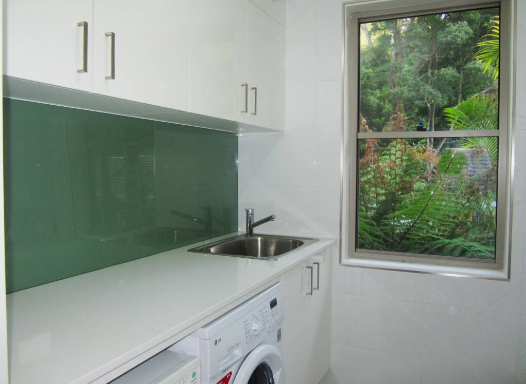 Laundry Wet Area Splashback Brilliant Option