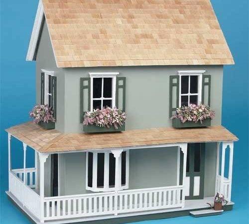 Laurel Wooden Dollhouse Kit Best Price Toys