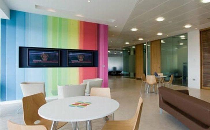 Law Office Interior Design Minimalist Furniture Grest Wall