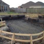 Lazy River Backyard New Pool Build Baytown