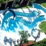 Lazy River Beach Home Luxury Pool Has Amazing