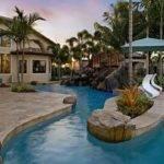 Lazy River House Backyard Pool Pinterest