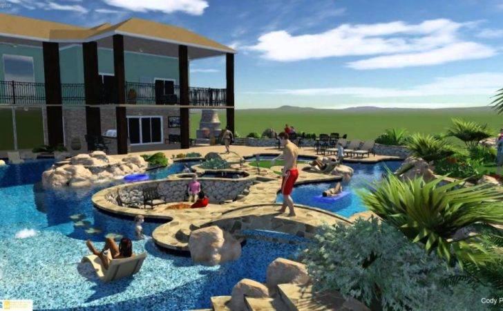 Lazy River Pinterest Luxury Pools Pool Backyard