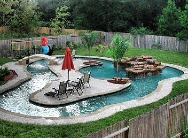 Lazy River Pool Backyard Dream Diy