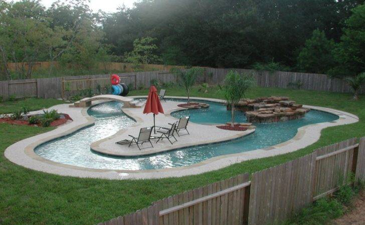 Lazy River Pool Designs Inground Ideas