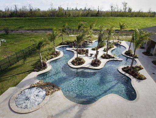 Lazy River Pool Don Expect Much Return Resale Time