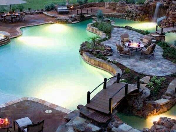 Lazy River Pool Let Grow Pinterest
