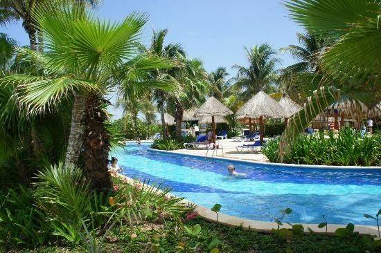 Lazy River Pools Grand Bahia Principe Coba