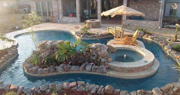 Lazy River Swimming Area Pools Pinterest