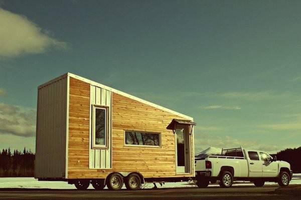 Leafhouse Luxury Tiny House Wheels Serves