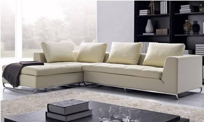 Leather Shaped Corner Modern Sofa Set New Design Sofas