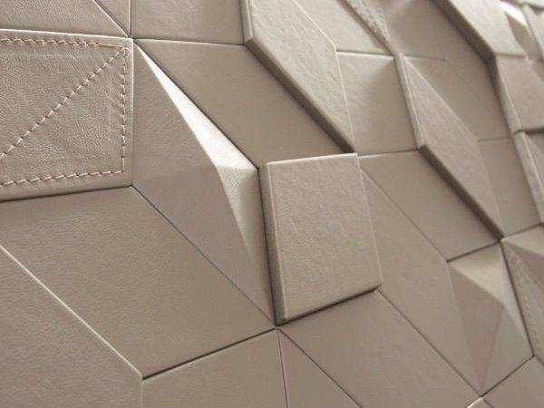 Leather Tile Diamonds Harcourt London Wall