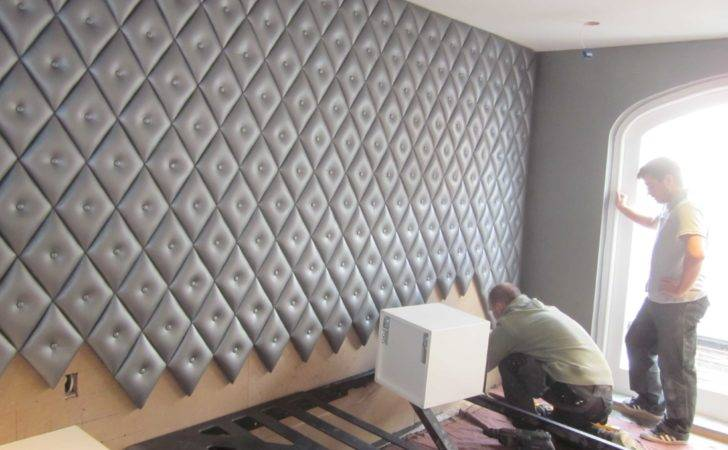 Leather Wall Cladding Metallic Silver Kensington Project Qmc Blog