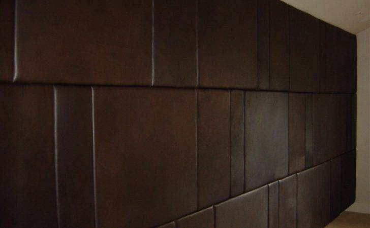 Leather Wall Panel Decor
