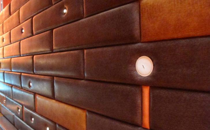 Leather Wall Panels Architecture House Designs Pinterest