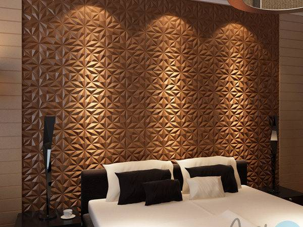 Leather Wallcovering Piece