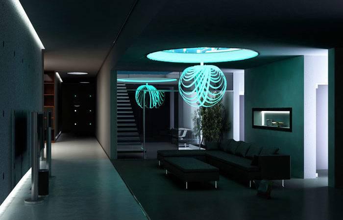 Led Interior Lighting Design Decorative