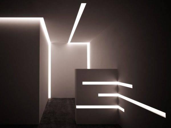 Led Lighting Drywall Corner Profile Centro Edile Lombardelli Srl