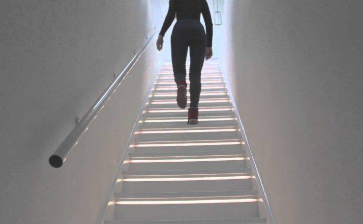 Led Lighting Staircase Youtube