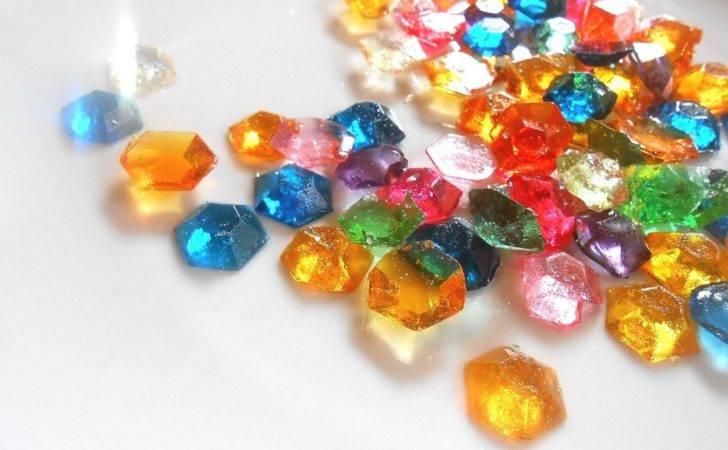 Legend Zelda Party Candy Gem Edible Rupees Sugar