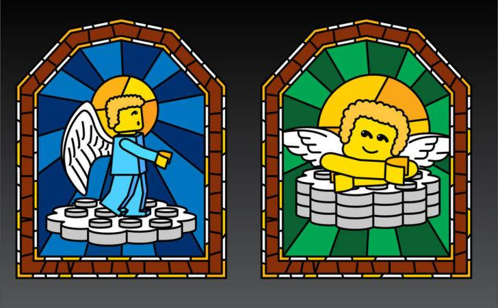 Lego Art Stained Glass Windows Royrat Deviantart