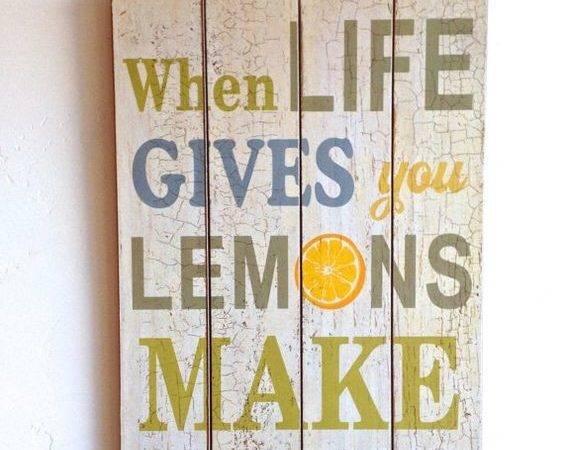 Lemon Drop Martini Drops Home Decor Inspirational Quotes