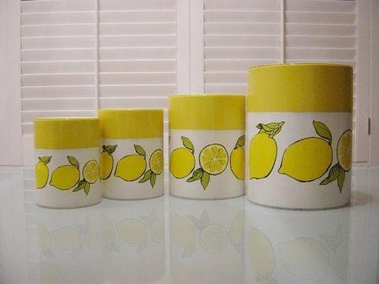 Lemon Themed Kitchen Decor Visit Etsy Lemons