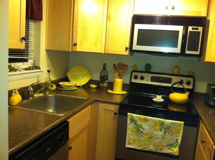 Lemon Themed Kitchen French Home Decor Pinterest