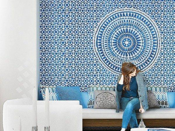 Let Stay Portuguese Moroccan Tiles Modern Interior Design