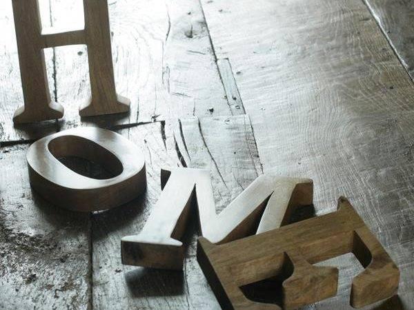 Letters Handmade Mango Wood Chunkiness Letter