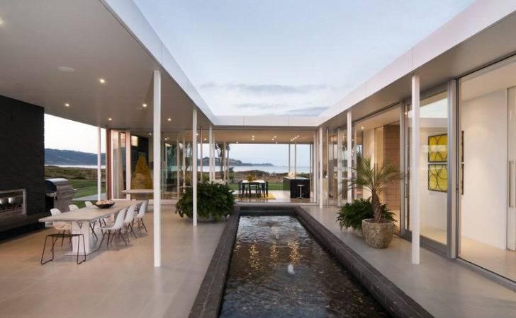 Level Beach House New Zealand Idesignarch Interior Design