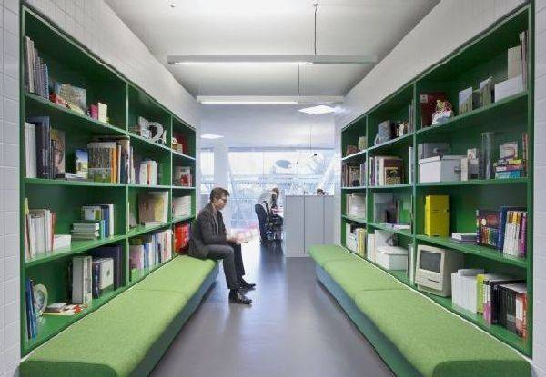 Library Furniture Ideas Modern Langland Office Interior Redesigned