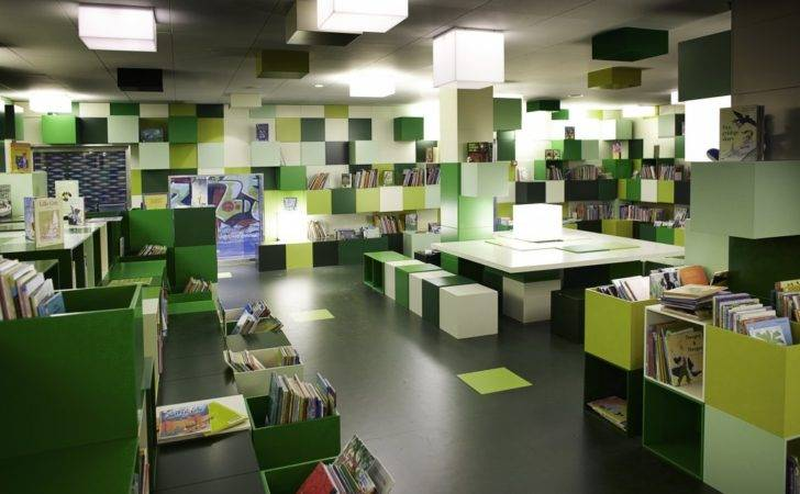Library Interior Design Copenhagen Cobe Best Modern
