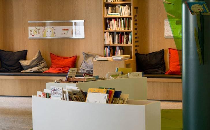 Library Interior Design Modern