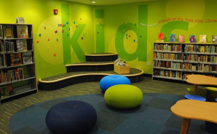 Library Kids Ideas Children Design
