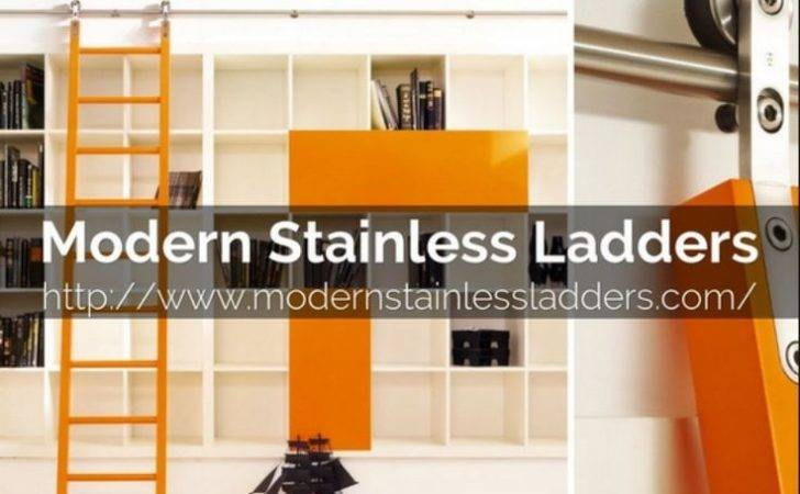 Library Ladder Modern Stainless Ladders