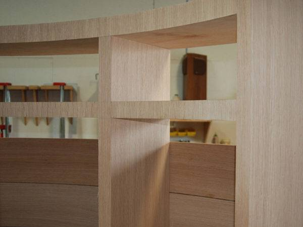Library Stair Cabinet