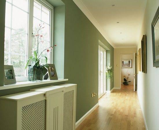 Light Airy Long Hallway Colour Schemes Housetohome