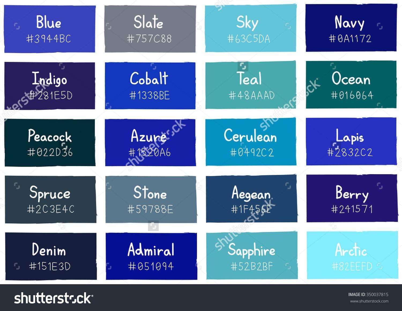 Light Blue Color Names