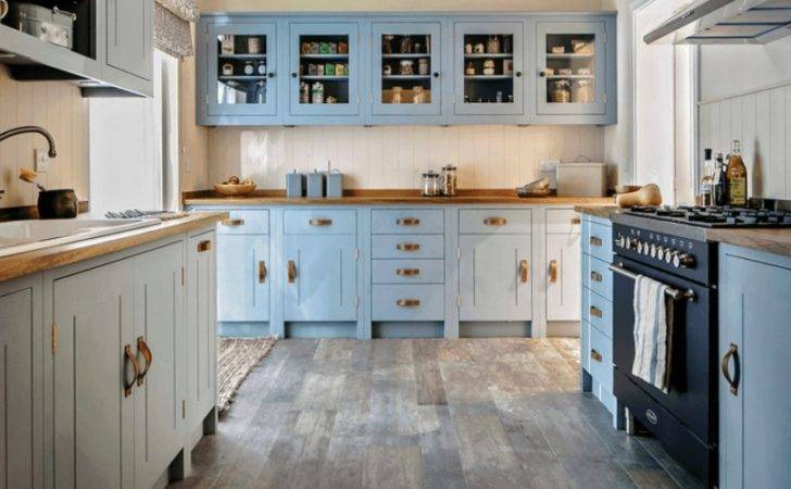 Light Blue Kitchen Walls