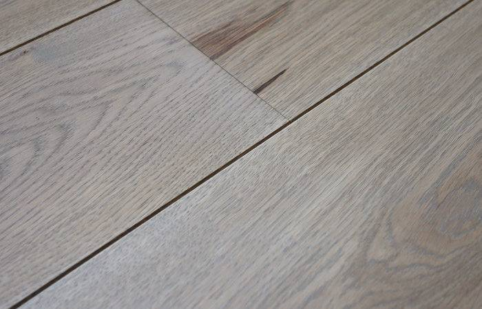 Light Grey Color Finish Smooth Floorboards