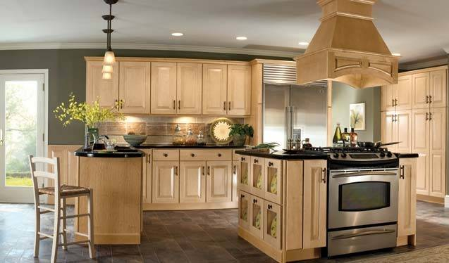 Light Kitchen Cabinets