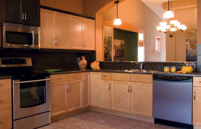 Light Maple Kitchen Cabinets Craft Cabinetry
