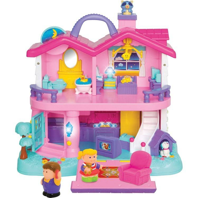 Light Sound Toddler First Dollhouse Educational Toys Planet