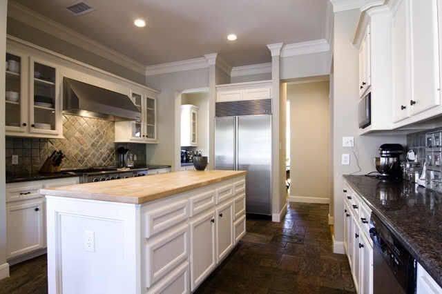 Light White Cabinetry Kitchen Cabinets Kitchens Slate