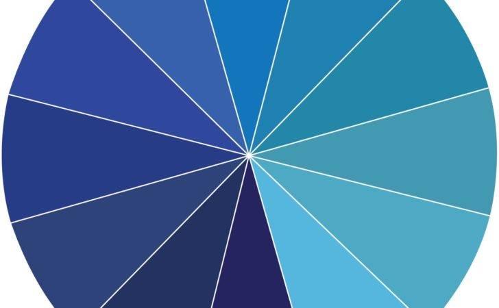 Lighter Blues Monochromatic Color Harmony Wheel Gray Coconut