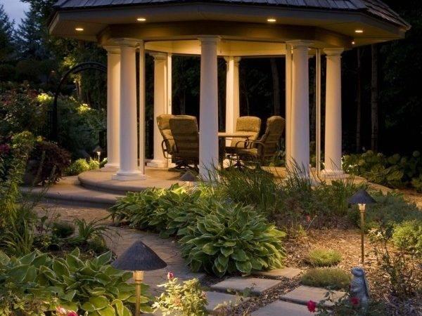Lighting Ideas Outdoor Gazebo