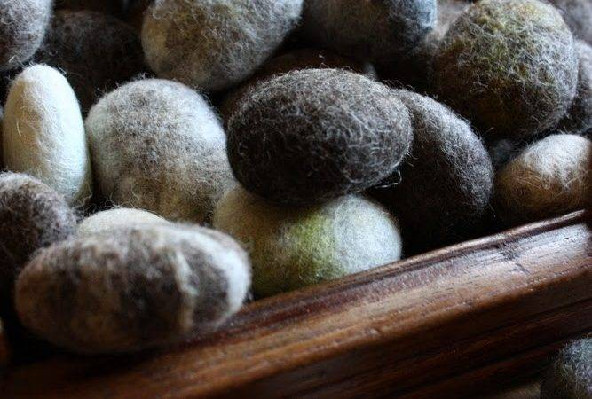 Lil Fish Studios Make Solid Wool Felted Stone