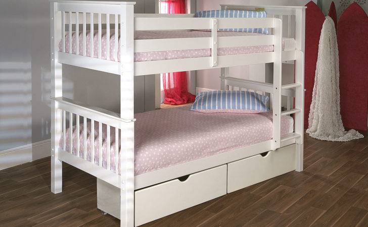 Limelight Collection Kids Teens Pavo Bunk White