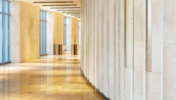 Limestone Interior Wall Native Texas Creates New Presence
